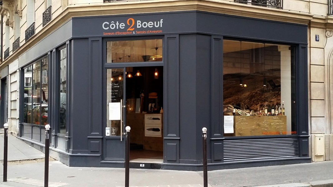 BOUTIQUE CÔTE2BŒUF, PARIS 17.