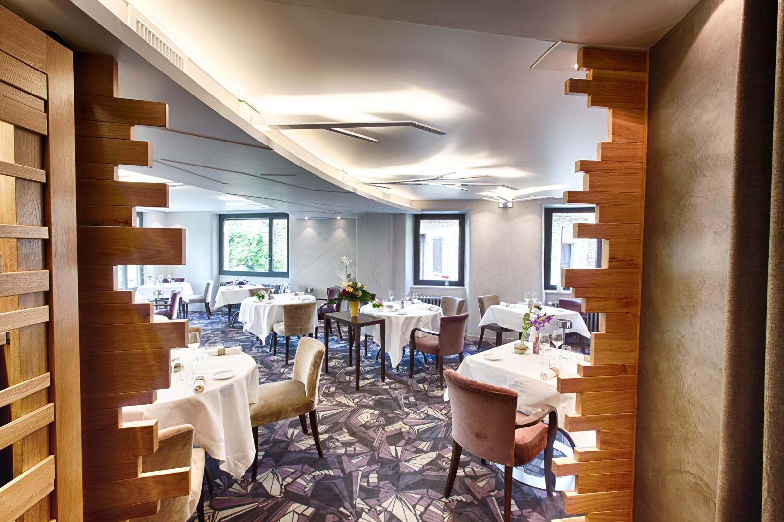 Architecte D Intérieur Aveyron one architecture - restaurant étoilé, belcastel